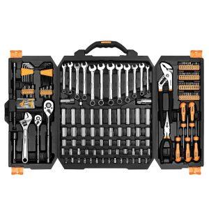 DekoPro 192 piece mechanic tool set