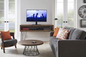 ECHOGEAR Universal Tabletop TV Swivel Stand