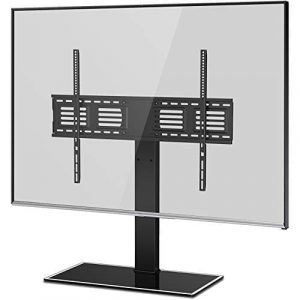 FITUEYES Universal TV Stand with Swivel Mount