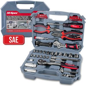 Hi-Spec 67 Piece SAE Auto mechanics Tool Set