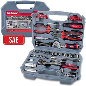 Hi-Spec 67 Piece SAE Auto mechanics Tool Set
