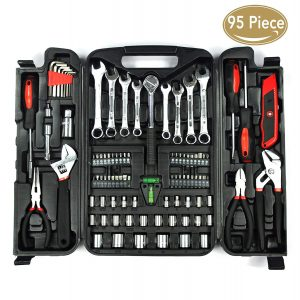 Kingorigin 95 piece home repair tool kit