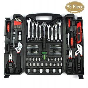 Kingorigin 95 piece home repair tool kit