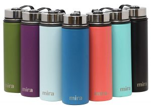 MIRA Stainless Steel Wide Mouth Water Bottle