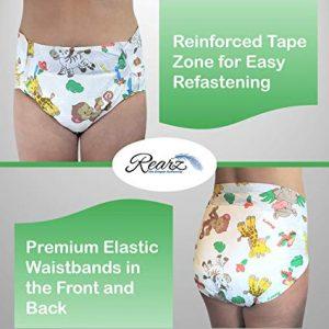 Rearz - Safari - Adult Diaper (12 Pack)
