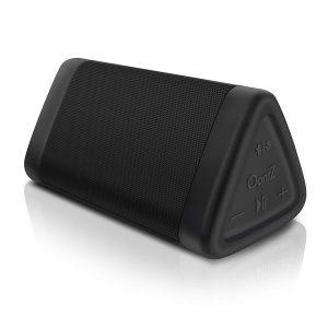 The OontZ Angle 3 enhanced stereo edition IPX5 splash proof portable Bluetooth speaker