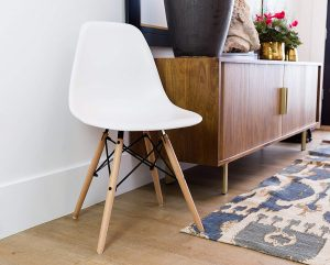 UrbanMod Mid Century Style Urban 'Easy Assemble Furniture with ErgoFlex ABS Plastic and 'One Wipe Wonder' Cleaning