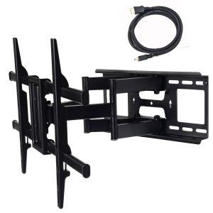 VideoSecu MW380B3 Full Motion Articulating TV Wall Mount Bracket