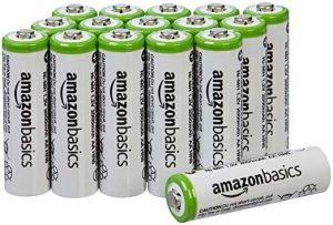 AmazonBasics AA Rechargeable Batteries