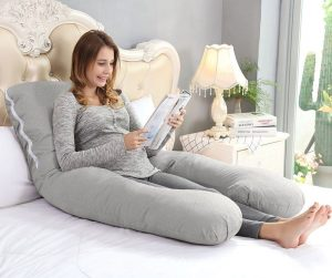 Top 10 Best Pregnancy Pillows for Women in 2019 - Buyer's Guide