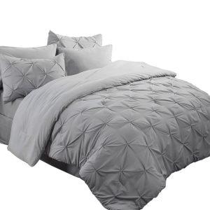 "Bedsure 6 Piece Comforter Set Twin Size (68""X88"")"