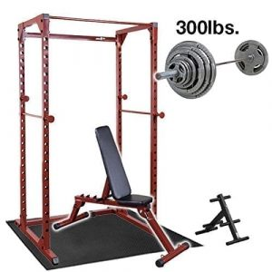 Best Fitness Power Rack 300 lbs