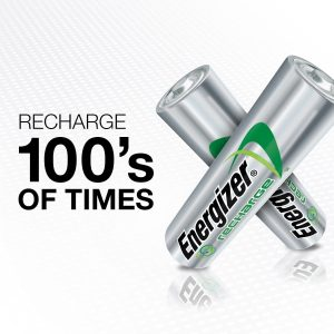 Energizer Rechargeable AA Batteries, 8 Count