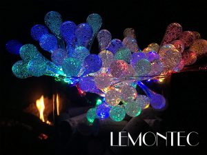 Lemontec Solar String Lights