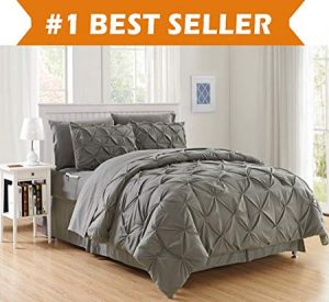 Luxury Best, Softest, Coziest 6-Piece Bed-in-a-Bag Comforter Set by Elegant Comfort