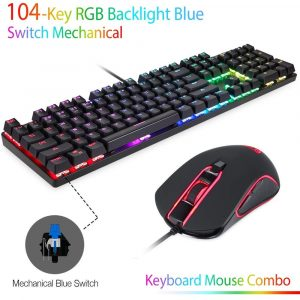 Motospeed CK888 RGB Mechanical Keyboard and Mouse Combo
