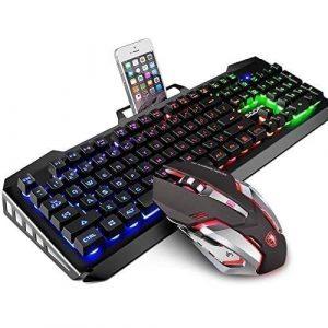 SADES Gaming Keyboard and Mouse Combo