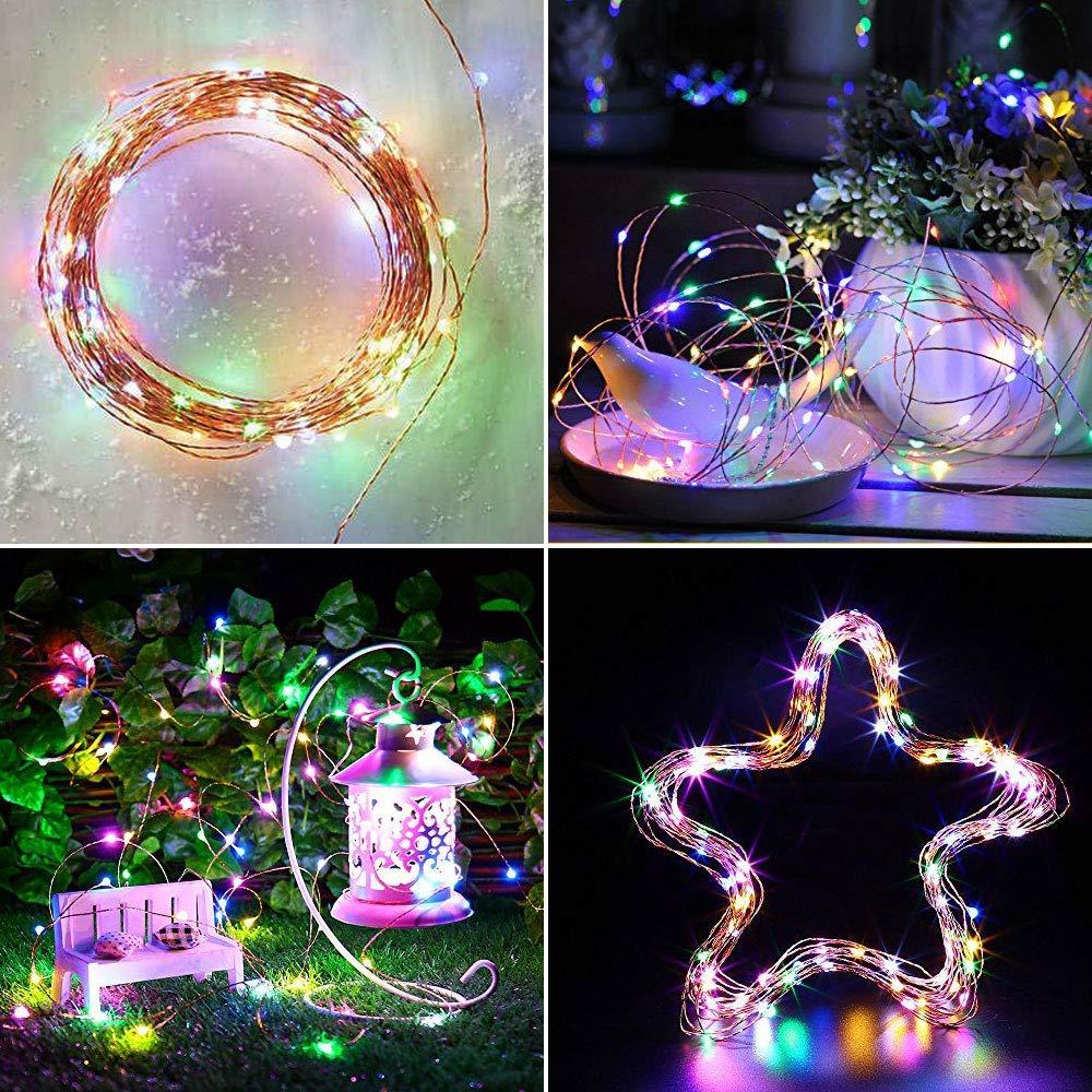 Vmanoo Solar String Lights