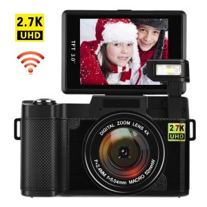 COMI TECH Digital Camera with Wifi 24.0 MP Vlogging Camera