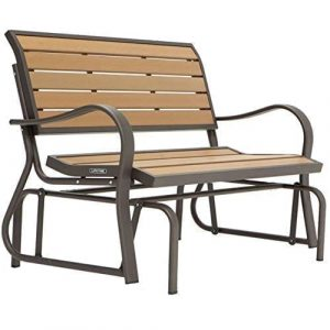 Jax Terrific Charming Swing Chair Outdoor Glider Bench Swing