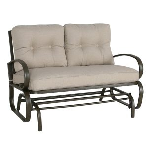 Patio Glider Loveseat