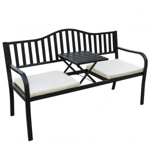 Sundale Outdoor Deluxe Glider Bench