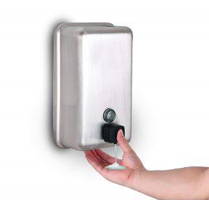 Alpine Stainless Steel Liquid Soap Dispenser