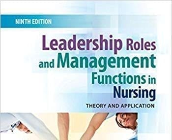 Top 10 Effective Leadership and Management in Nursing Books [New Edition 2019]