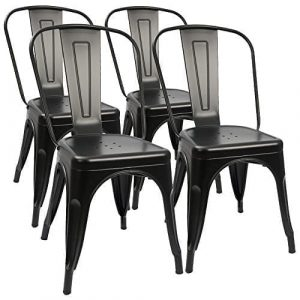 Furmax Metal Kitchen/Dining Chair (Set of 4)