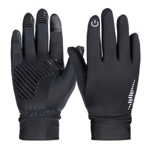 Mens Touch Screen Gloves Thermal Driving Gloves Windproof Mens Driving Gloves