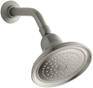 KOHLER K-10391-AK-BN Devonshire Single-Faucet Katalyst Showerhead, Vibrant Brushed Nickel