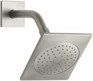 KOHLER K-14786-BN Loure Single-Function Showerhead, Vibrant Brushed Nickel