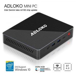 BOLV ADLOKO GE4-Mini PC [Intel Gemini Lake-N4100]