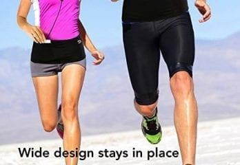 Comfortable running belts