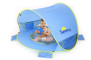 Crecom Baby Beach Tent 50+ UPF