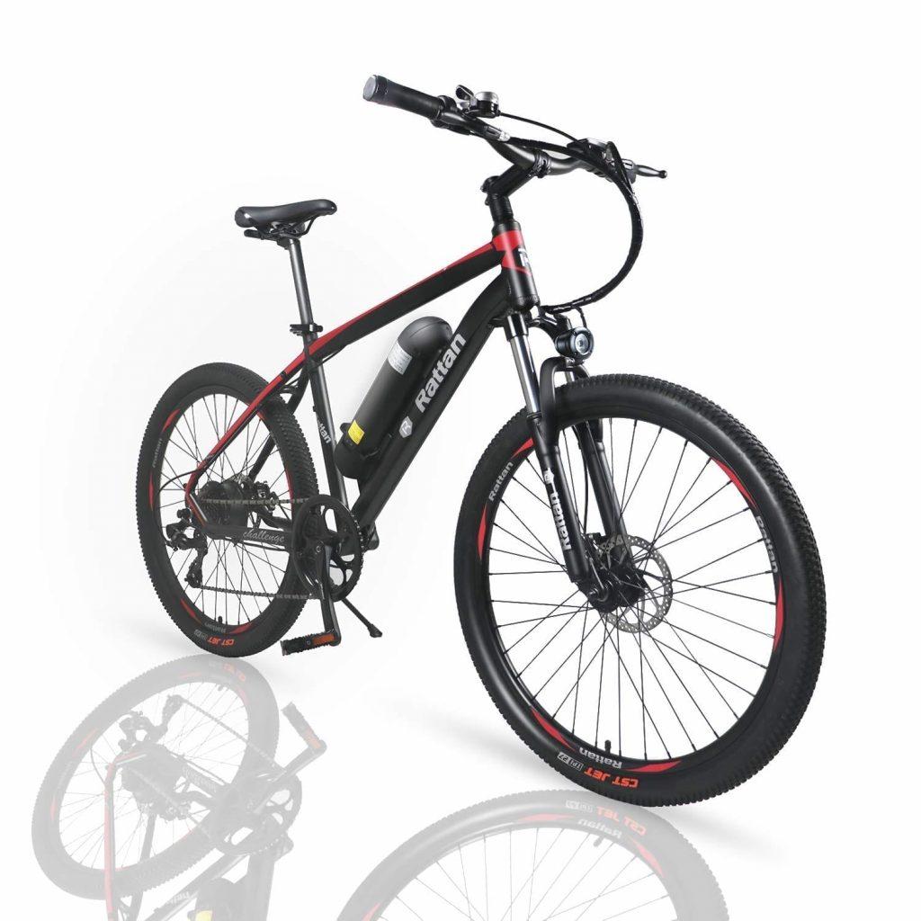 Rattan Shimano 26-inch Aluminum Electric Mountain Bike [7 Speed E-Bike]