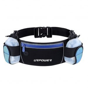 URPOWER Running Belt with Multifunctional Pockets
