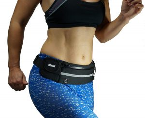 dimok Running Belt Waist Pack - Water Resistant Runners Belt Fanny Pack