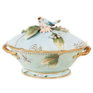 Fitz and Floyd Tureen with Ladle