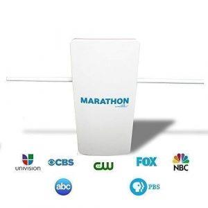Free Signal TV Marathon Indoor Outdoor Antenna