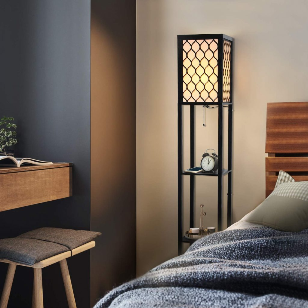 Top 10 Best Shelf Floor Lamps in 2019 – Ideas for Home Decor