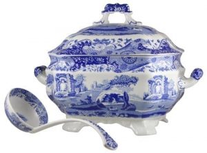 Soup Tureen and Ladle Set