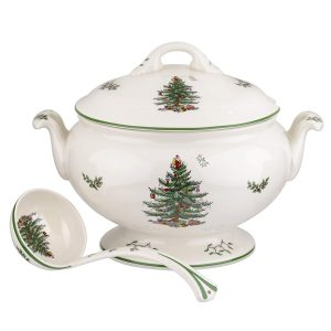 Spode Christmas Tree Tureen and Ladle