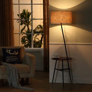 Wellmet Modern Tripod Floor Lamp