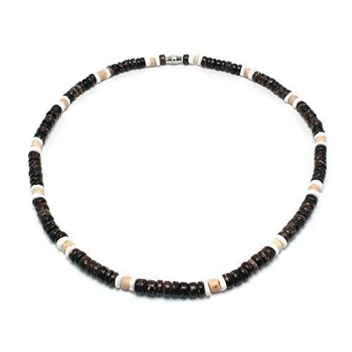 Green Nipa Hut Hawaiian Shell Necklace for Women