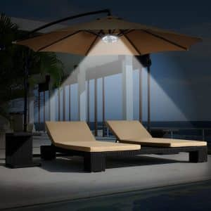 AMIR NEW VERSION Light for patio umbrellas