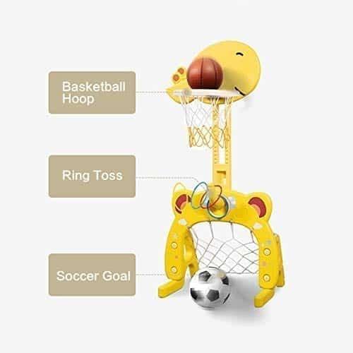 Beebeerun Basketball Hoop Set