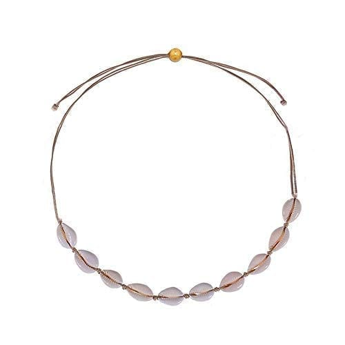 Canboer Natural Shell Necklace for Women