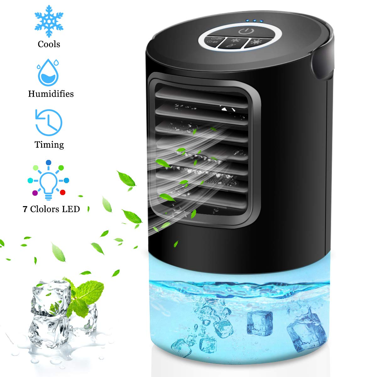 OVPPH Portable Air Conditioner Fan