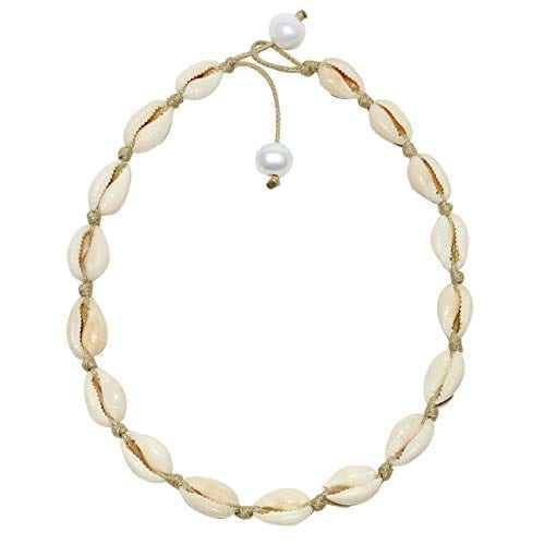 POTESSA Natural Shell Necklace for Women